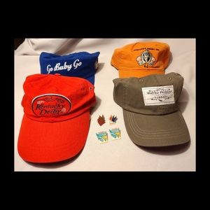 🆕 4 KY DERBY HATS 4 KY DERBY FESTIVAL LAPEL PINS